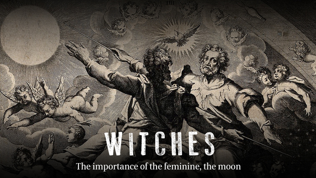 The importance of the feminine, the moon